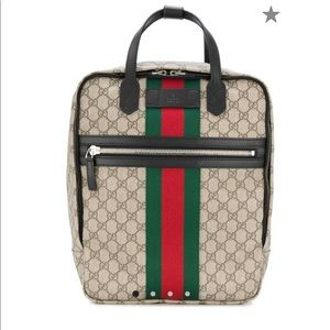 Authentic Gucci Supreme backpack!